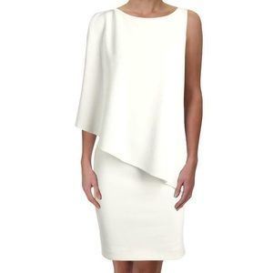 Lauren Ralph Lauren NWT Asymmetrical Crepe Dress
